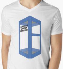 Glass Case  Men's V-Neck T-Shirt