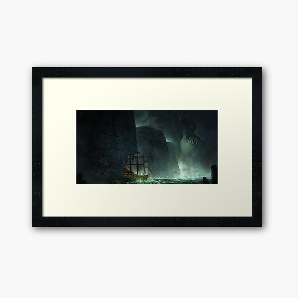 Great Old One Framed Art Print