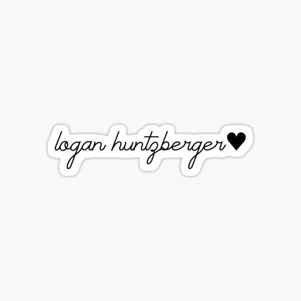 Logan Huntzberger With Heart Sticker
