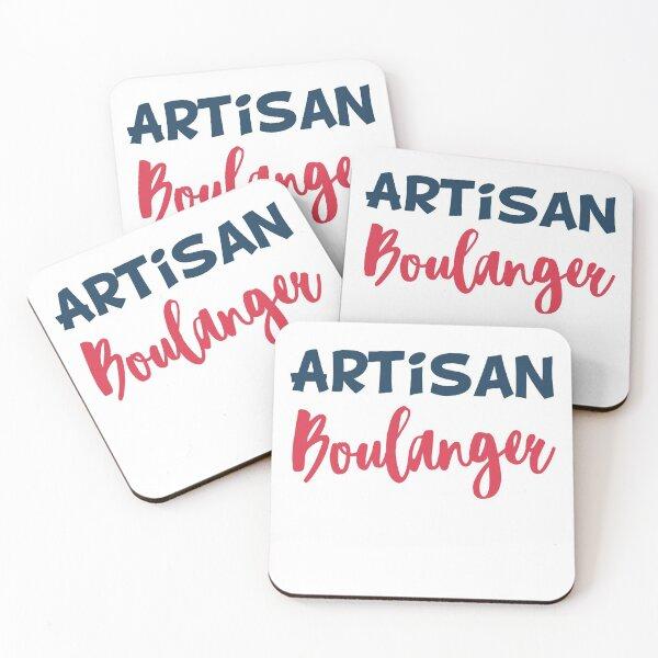 Craftsman baker gift humor funny profession Coasters (Set of 4)