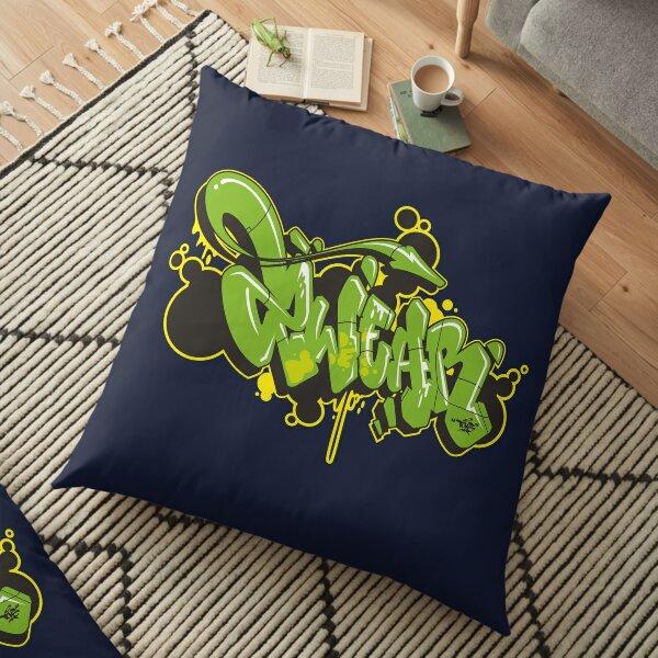 Graffiti Style 2wear Floor Pillow
