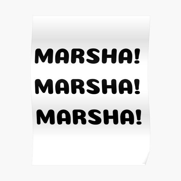 Marsha! Marsha! Marsha! Poster