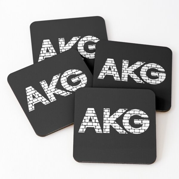 Akg by harman brick style  Coasters (Set of 4)