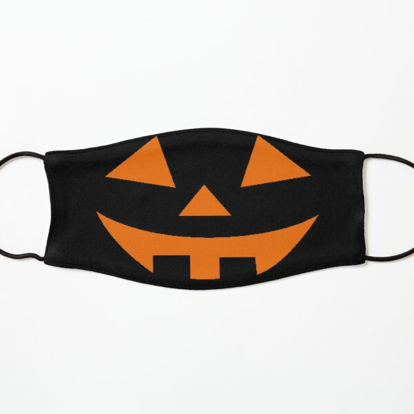 Funny Halloween Pumpkin Face Last Minute Halloween Costume Kids Mask