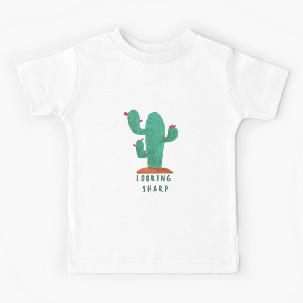 Looking Sharp Cactus Kids Shirt
