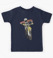Camiseta para niños Motocross