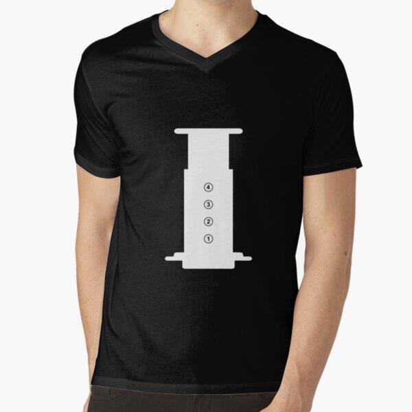Aeropress V-Neck T-Shirt