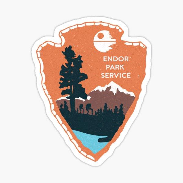 Planetary Park Badge Sticker