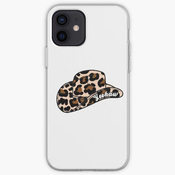 Yeehaw Cheetah Cowboy Hat iPhone Soft Case