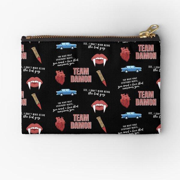 Team Damon Vampire Pack Zipper Pouch