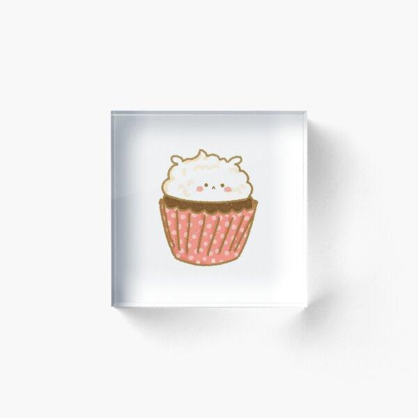 1 Magdalena cupcake Patch Patch perchas imagen coser aplicación comer pastel corazón