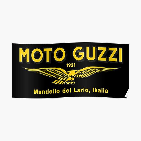 Moto Guzzi. Mandello del Lario. 1921 Poster