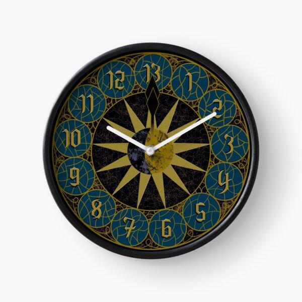 13 Hour Clock Graphic Clock
