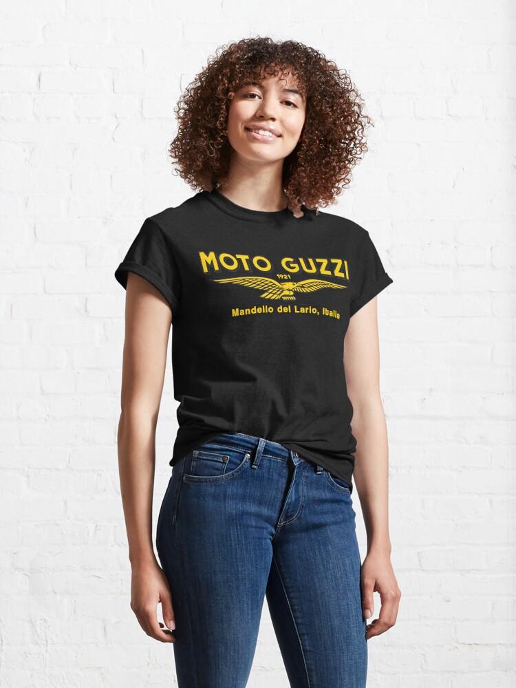 Alternate view of Moto Guzzi. Mandello del Lario. 1921 Classic T-Shirt