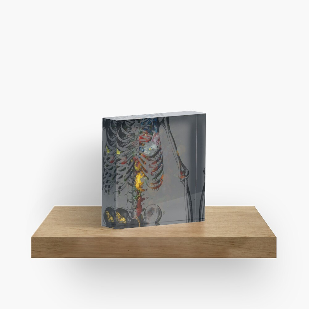 Catafalque, Book Cover Acrylic Block