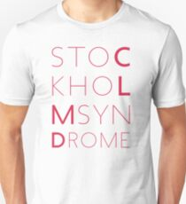 CLMD - The Stockholm Syndrome Coral Typography Unisex T-Shirt