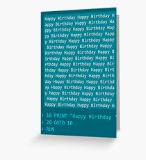 Happy Birthday - BASIC Greeting Card