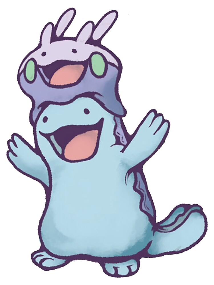 Unaware Goomy & Quagsire by Poke Monsters