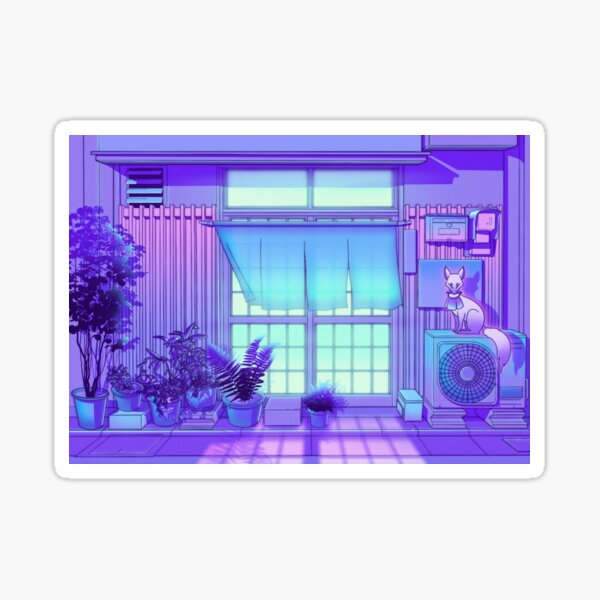 Inari Night Sticker