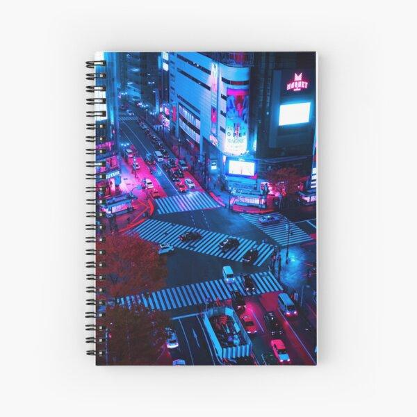 Downtown Shibuya Spiral Notebook