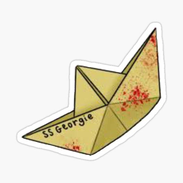 S.S. Georgie Paper Boat Sticker