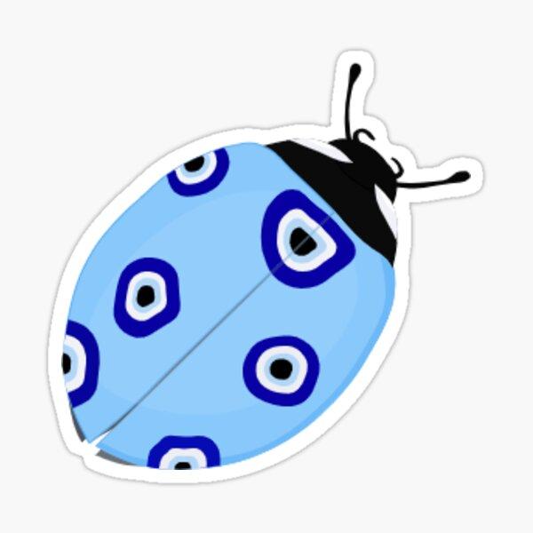 Evil Eye Ladybug sticker Sticker