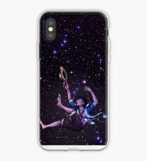 Falling (Dark) iPhone Case