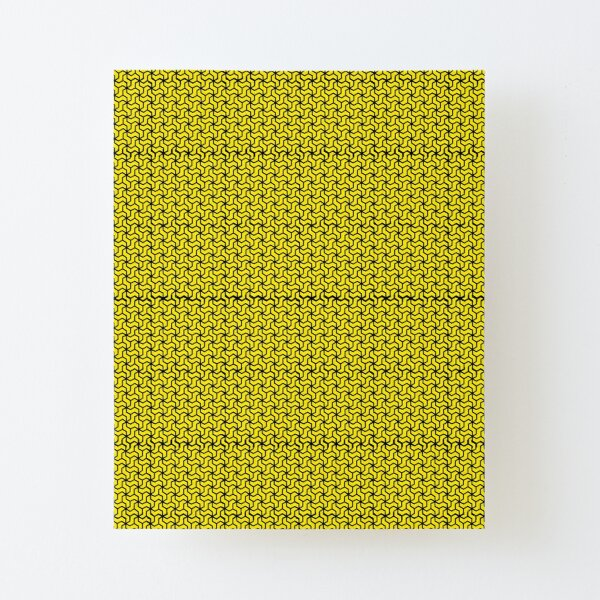 Cyber Pattern Canvas Mounted Print