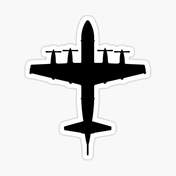 P-3 Orion Anti-Submarine and Maritime Surveillance Patrol Aircraft Sticker