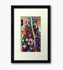 Beauty is made in the moment Framed Print
