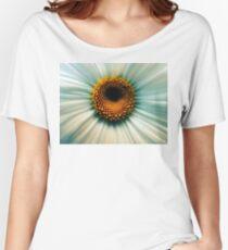 Macro Flower Women's Relaxed Fit T-Shirt