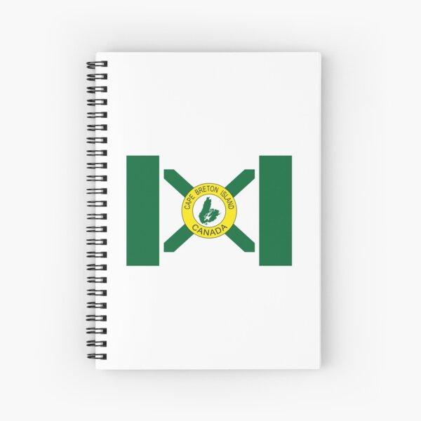 Flagge von Cape Breton Island (inoffiziell), Nova Scotia Spiralblock