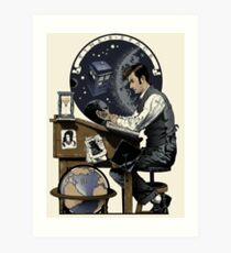 Daydreaming Doctor Art Print