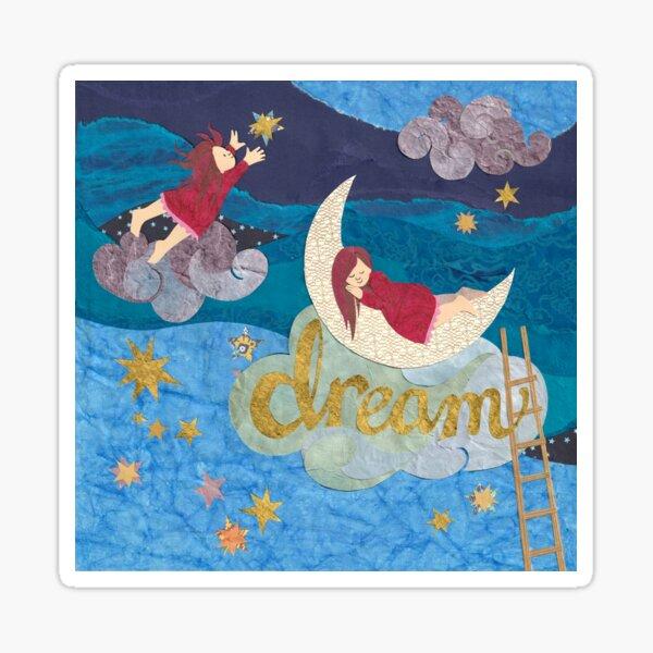 Dream on a Cloud, Reach for the Stars Sticker