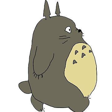 Totoro by PaintedFrogs