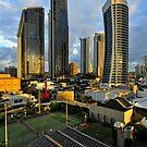 Surfers Paradise Sunrise. Gold Coast, Queensland, Australia by Ralph de Zilva