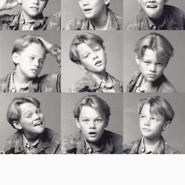 Young Leonardo DiCaprio by aahdesigns