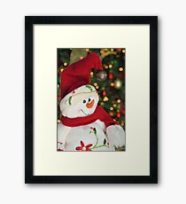 Frosty Christmas 3 Framed Print