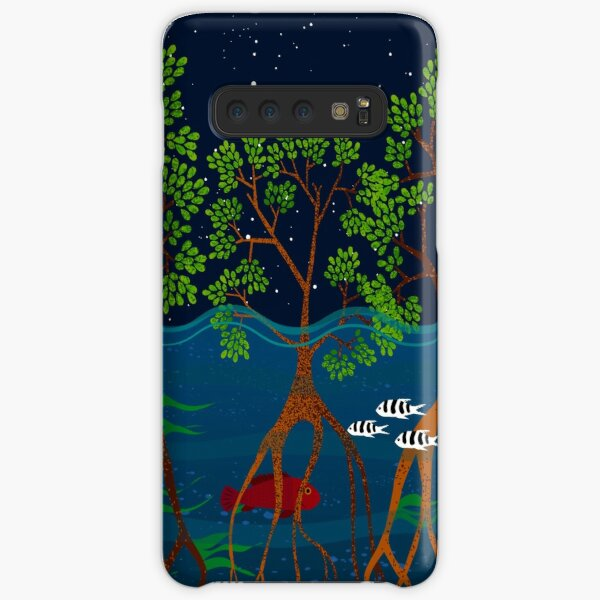 Magical mangrove forest Samsung Galaxy Snap Case