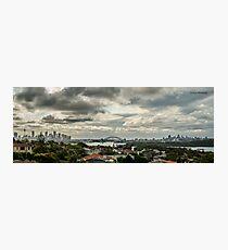 Sydney Panorama Photographic Print