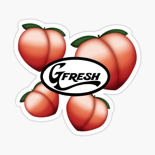OG Party Peach Sticker
