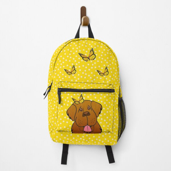 Brown Newfie Butterfly Backpack