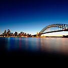 Sydney Harbour at Twilight by worldwondering