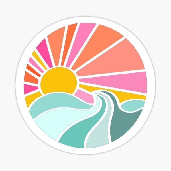 Ocean sun Sticker