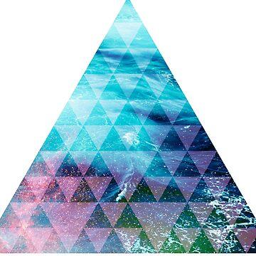 Ocean geometrical pyramid by absolutewhite