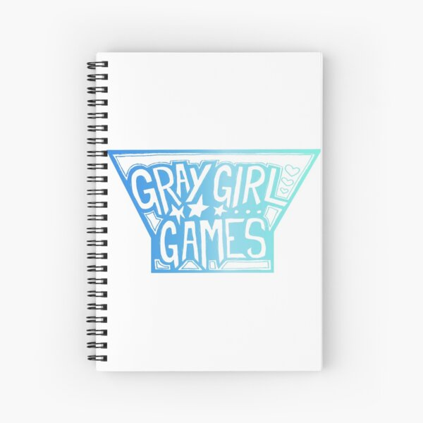 GGG Logo - Blue Spiral Notebook