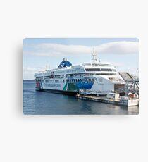 BC Ferries Victoria BC Metal Print