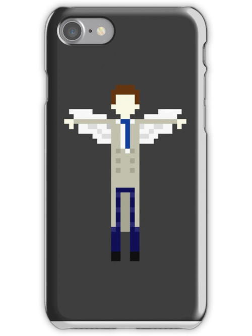 Pixel Cas Phone Case.. heh by JamesTiplady