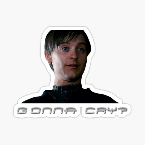 Mean guy Tobey Sticker