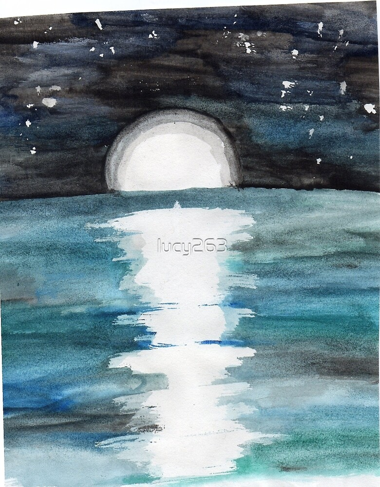 Moonlight on the Water by lucy263